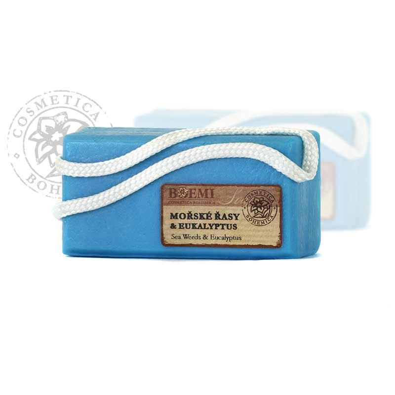 Mýdlo glycerinové závěsné Mořské řasy 200g