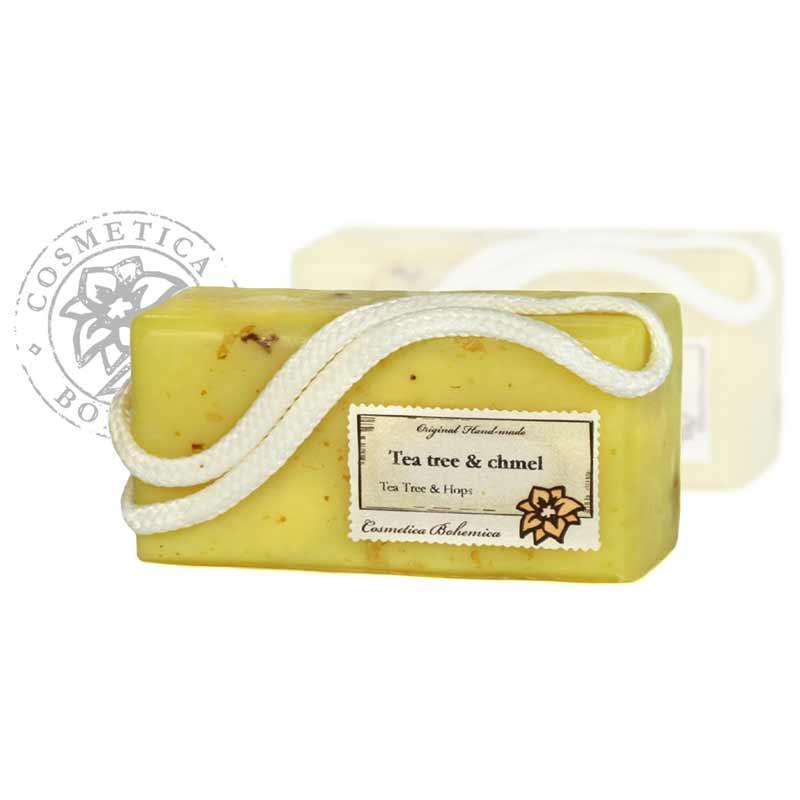 Mýdlo glycerinové závěsné Tea-tree 200g