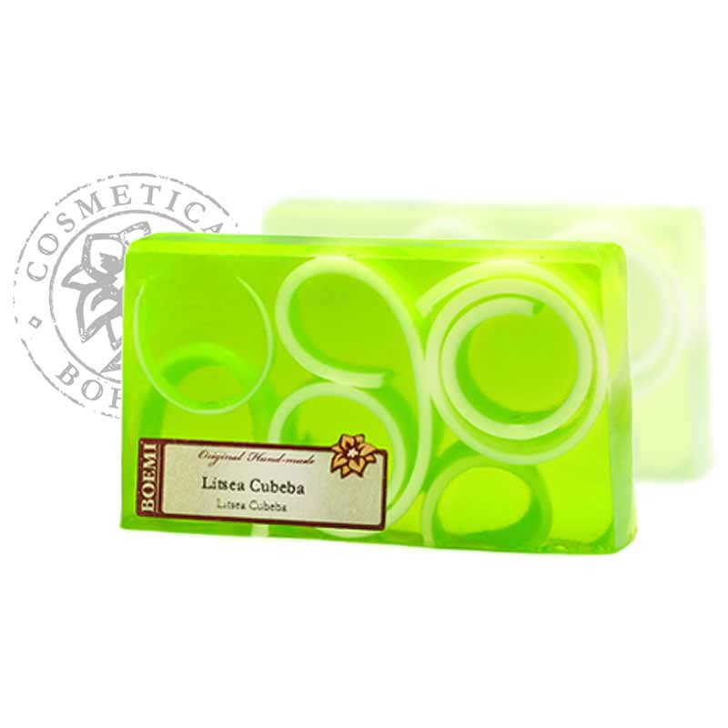 Mýdlo křišťálové spirálové Litsea Cubeba 140g