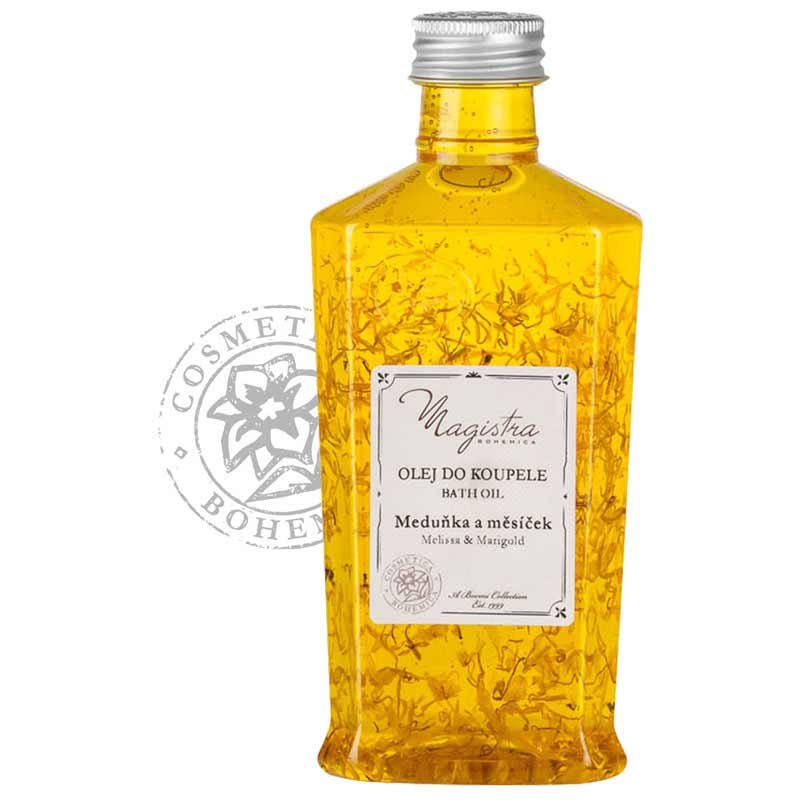 Koupelový olej Meduňka a měsíček 250ml