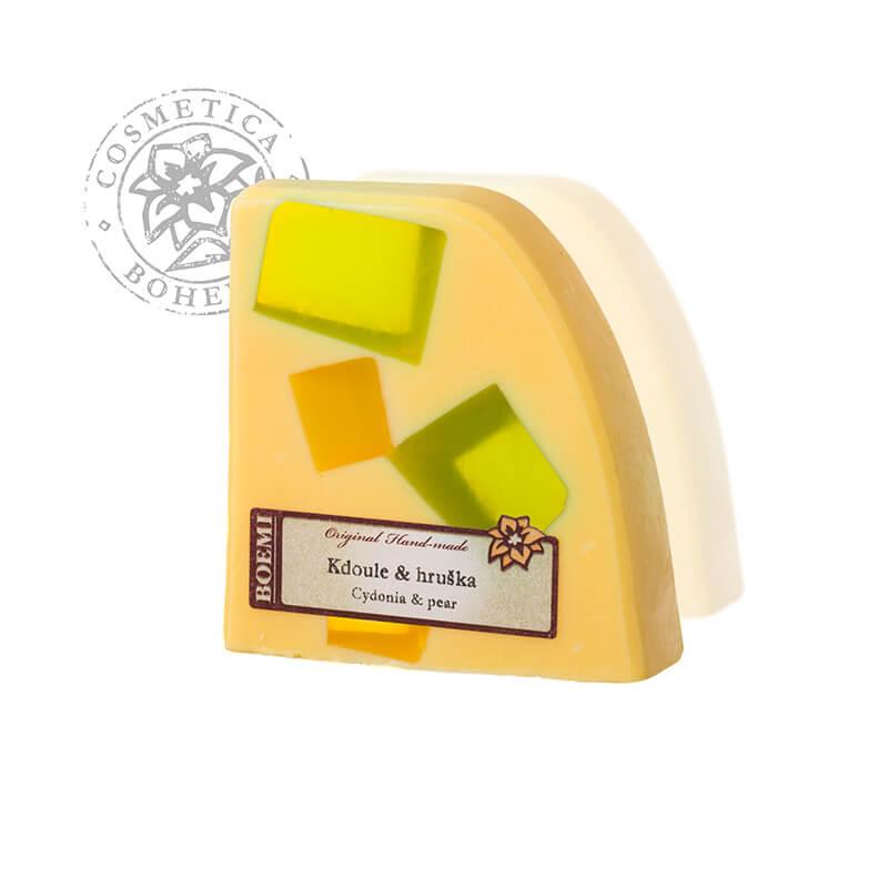 Mýdlo křišťálové s jogurtem Kdoule-hruška 120g
