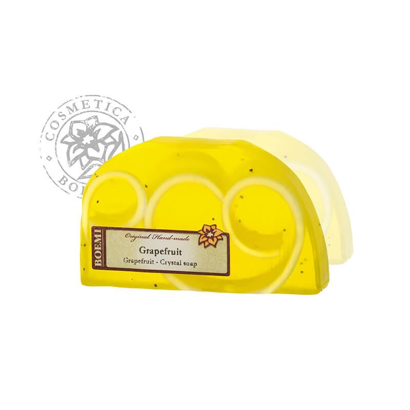 Mýdlo křišťálové peelingové Grepfruit 100g