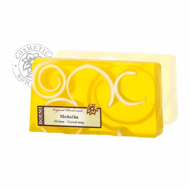 Mýdlo křišťálové spirálové Meduňka 140g