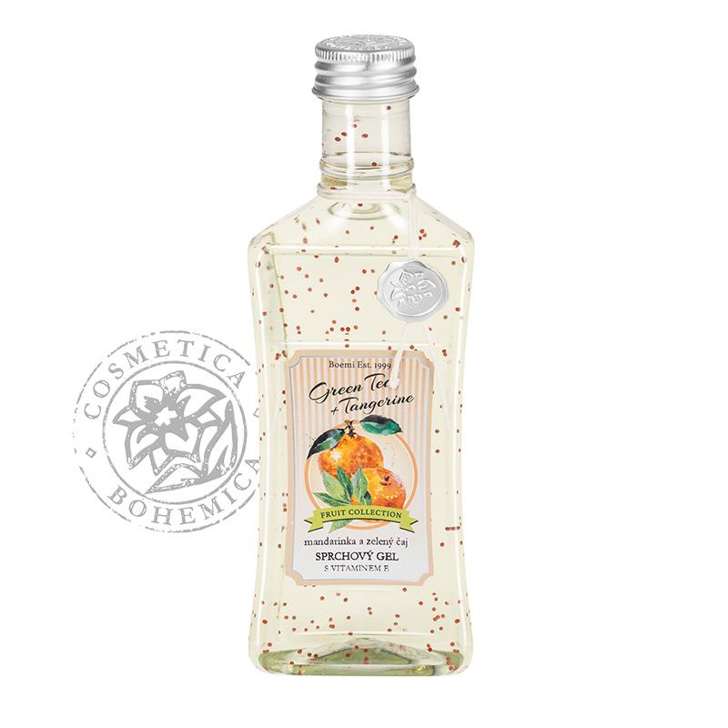 Sprchový gel s vit. kuličkami Mandarinka a zel. čaj 250ml
