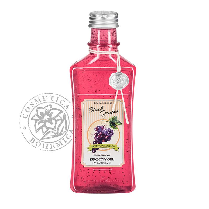 Sprchový gel s vit. kuličkami Černé Hrozno 250ml