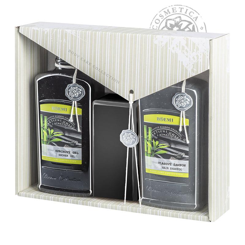 Dárková kazeta – Bambusové aktivní uhlí