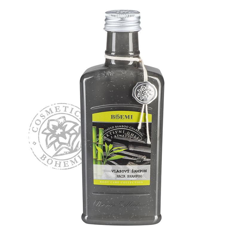 Vlasový šampon – Bambusové aktivní uhlí 275 ml