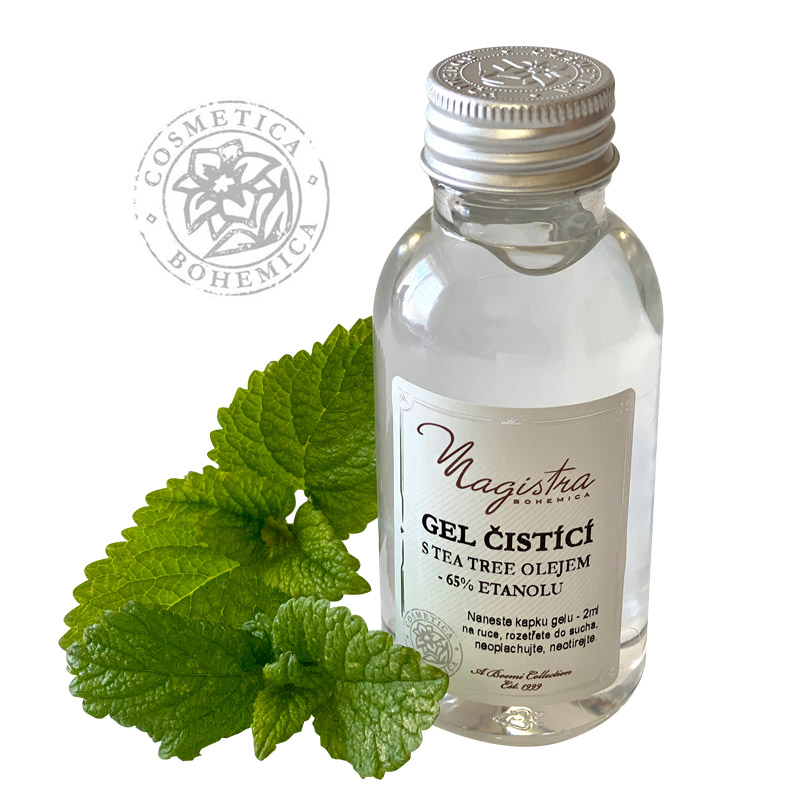 Čistící gel na ruce s Tea – tree oil 120 ml