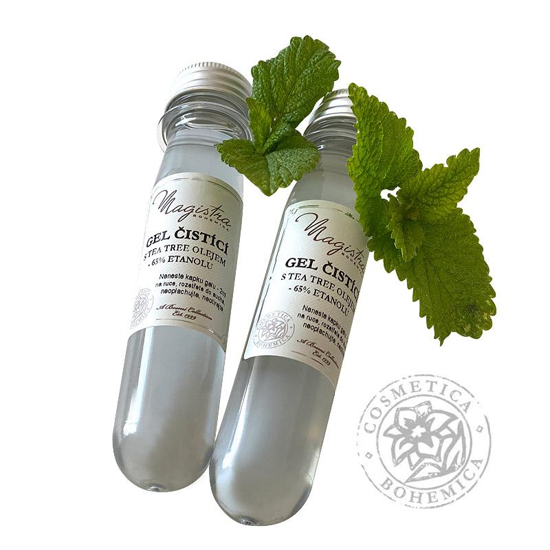 Čistící gel na ruce s Tea-tree olejem 50 ml
