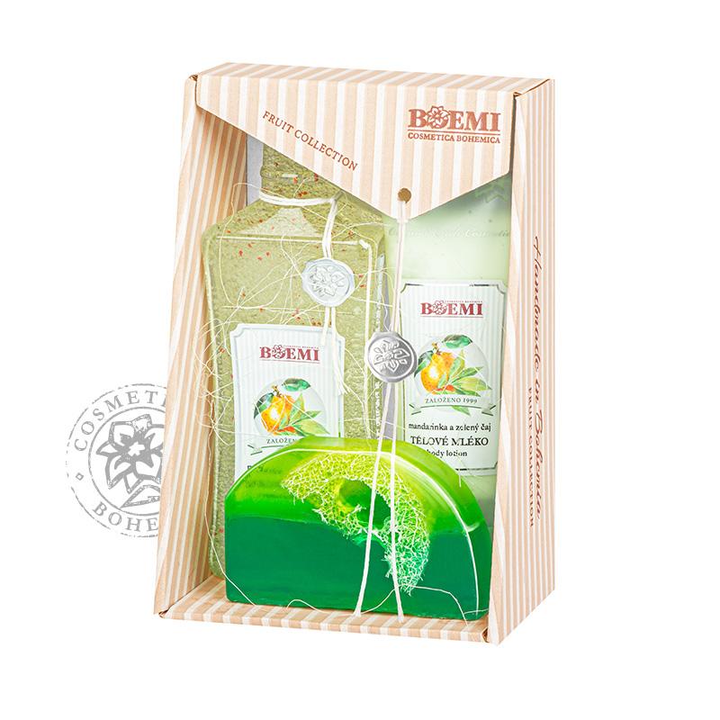 Dárková kazeta Mandarinka a zelený čaj