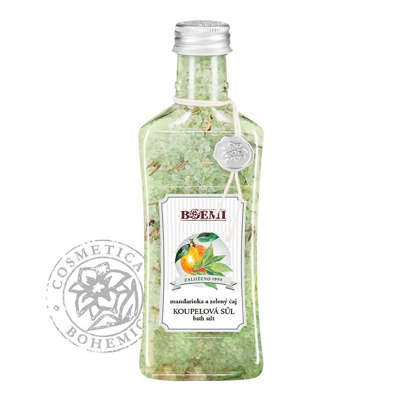 Koupelová sůl Aroma Mandarinka a zel. čaj 320g